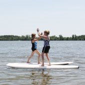 Yoga Stand Up Paddle Boarding